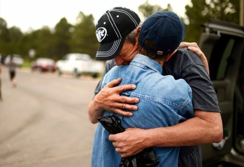 Colorado fire moved fast: 'We had no time, no warning, nothing'