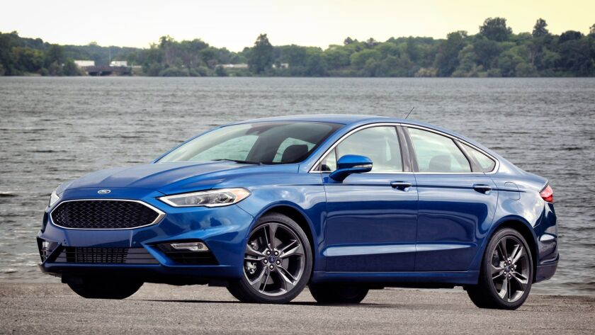 Ford Fusion Sport >> 2017 Ford Fusion Sport Road Test The San Diego Union Tribune