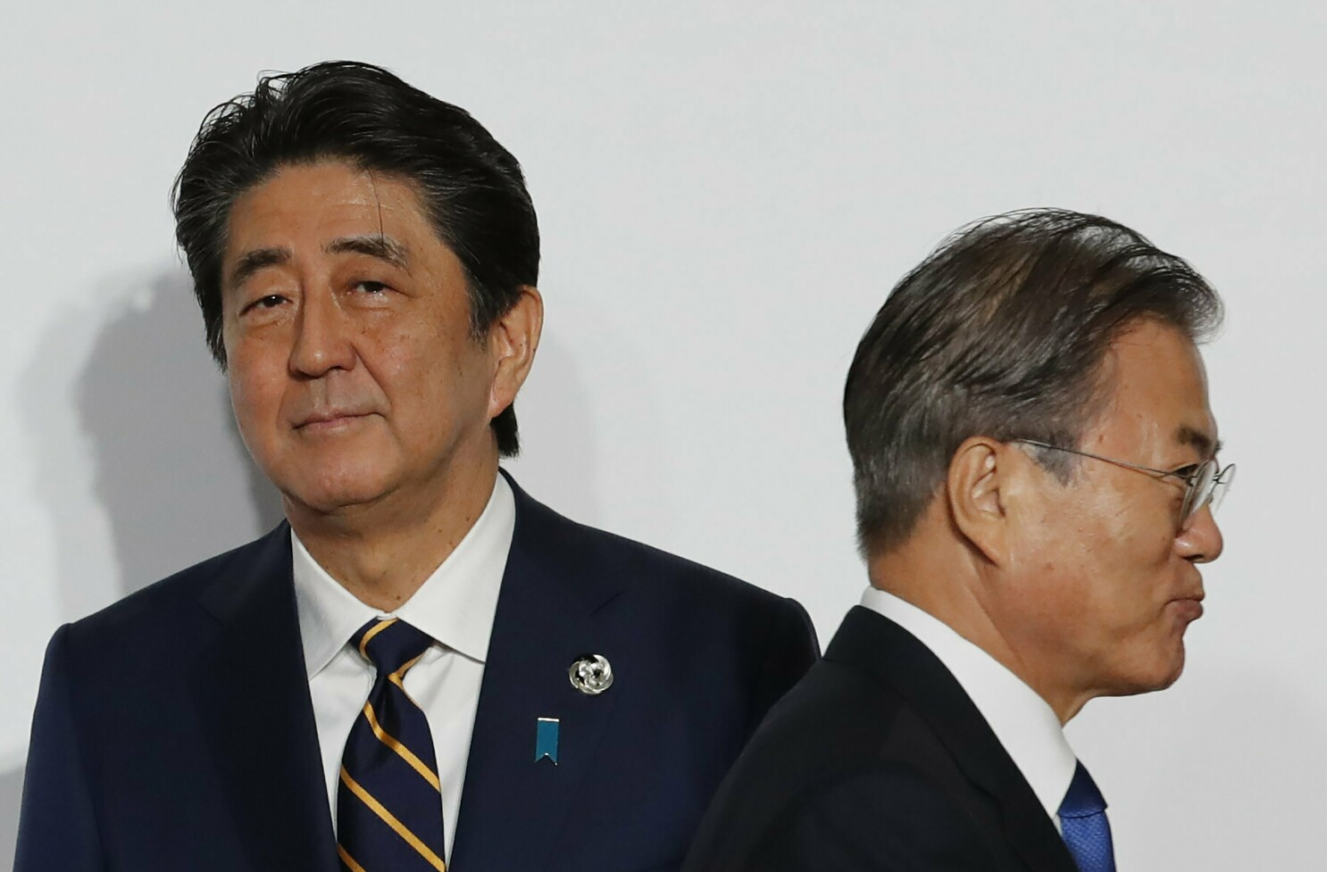 Japan uses trade restrictions as a weapon against South Korea