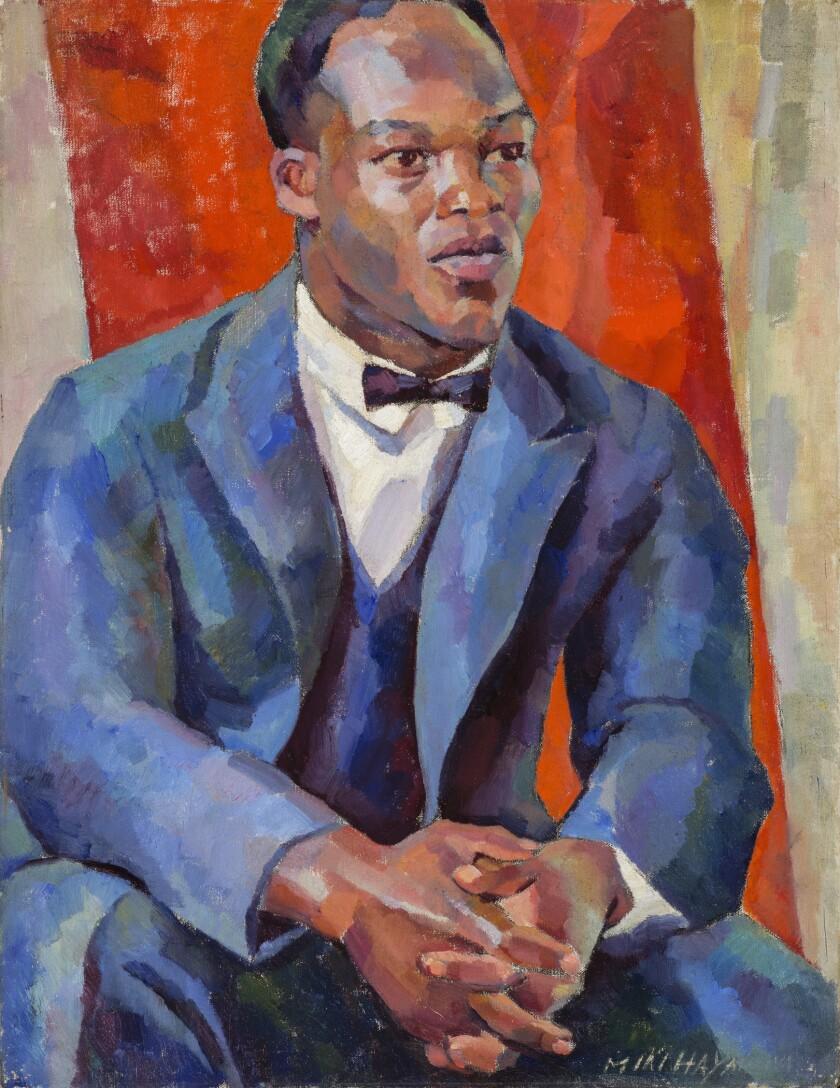 """Portrait of a Negro,"" by Miki Hayakawa."