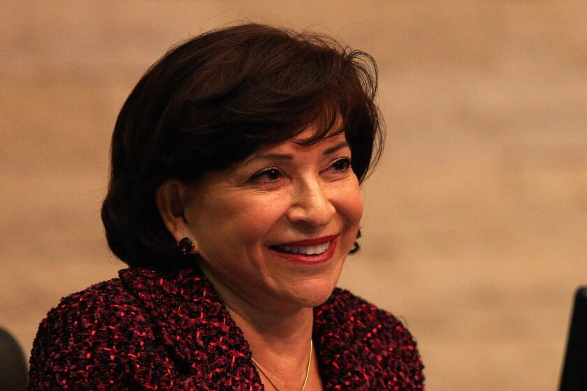 Wages: $136,785 Retirement & health costs: $50,494 Population: 265,070 Shown: Mayor Mary Salas