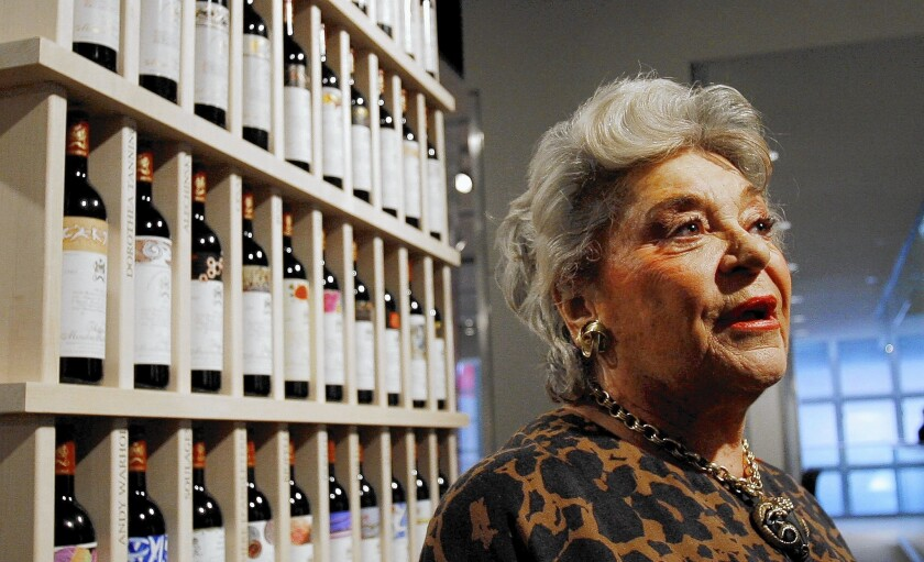 French Baroness Philippine de Rothschild dies aged 80