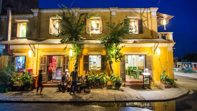 Hoi An, an 18th century Southeast Asian trading port, is a UNESCO World Heritage site, recognized for its quaint merchant homes and streetscapes.