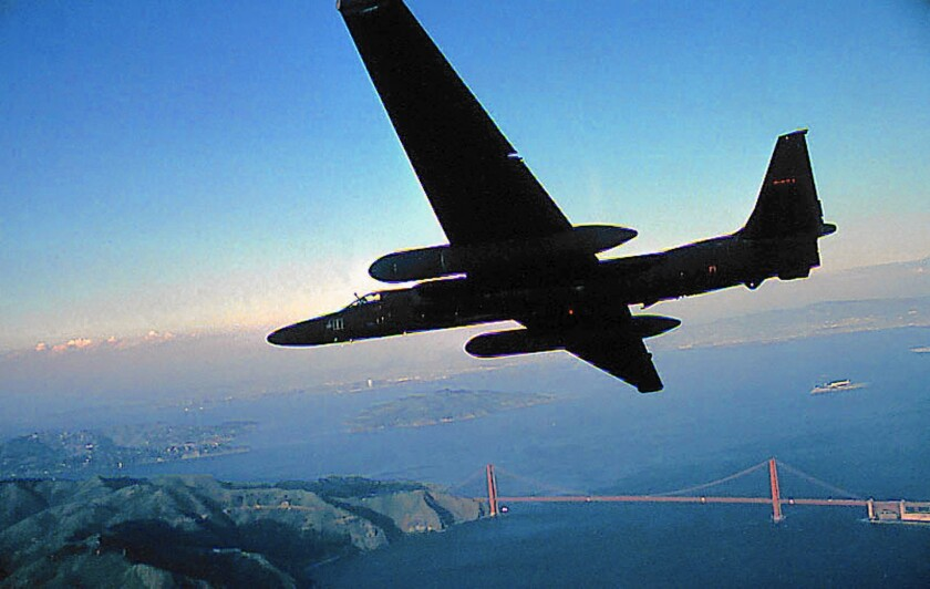 U-2 spy plane's mission: fend off rival Global Hawk - Los