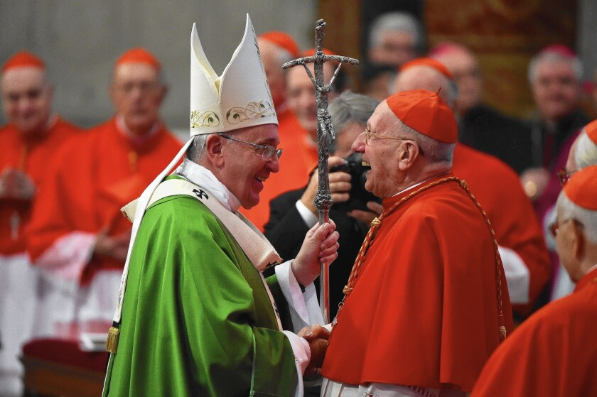 Mass at St. Peter's Basilica