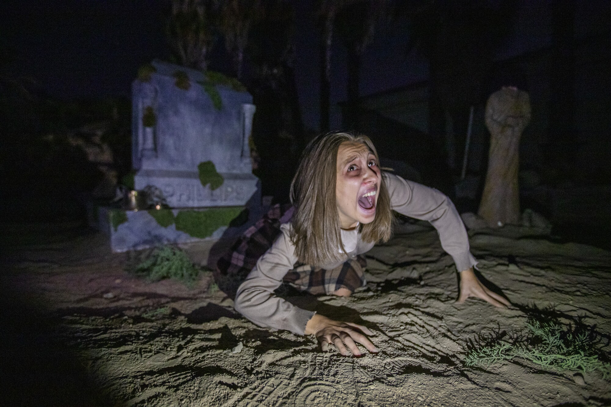"""Gabie Faulkner is """"Lily"""" in the latest immersive theater experience from """"Delusion."""""""