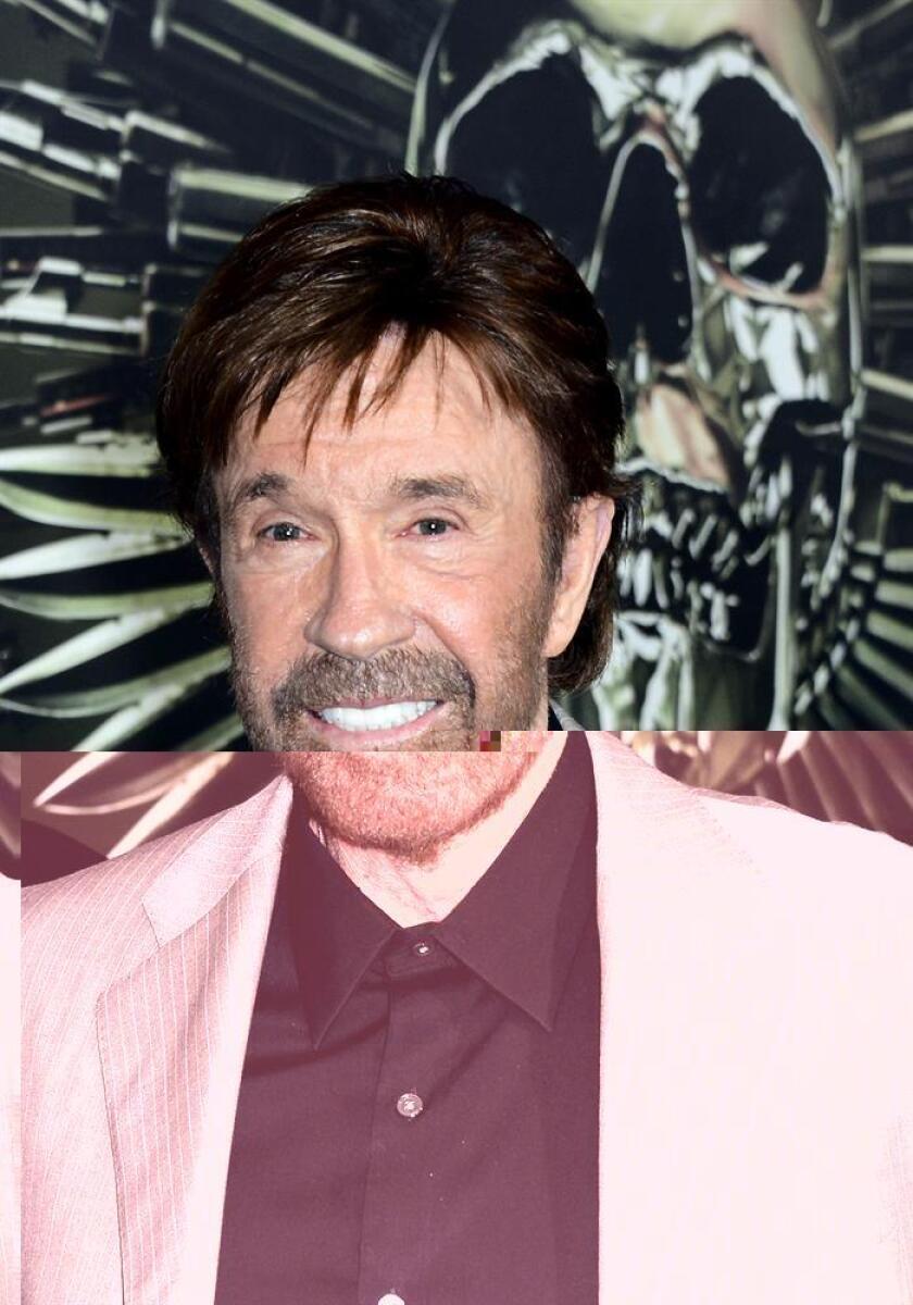 El actor estadounidense Chuck Norris posa para una fotografía. EFE/Archivo