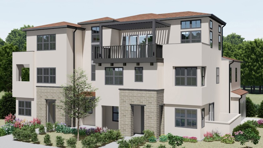"""An artist's rendition of the """"Artemis"""" style of condos."""