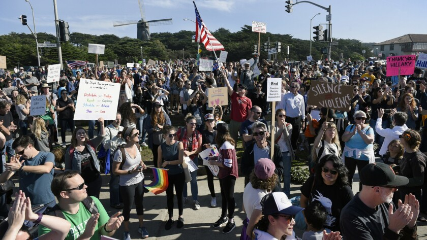 Protest in San Francisco