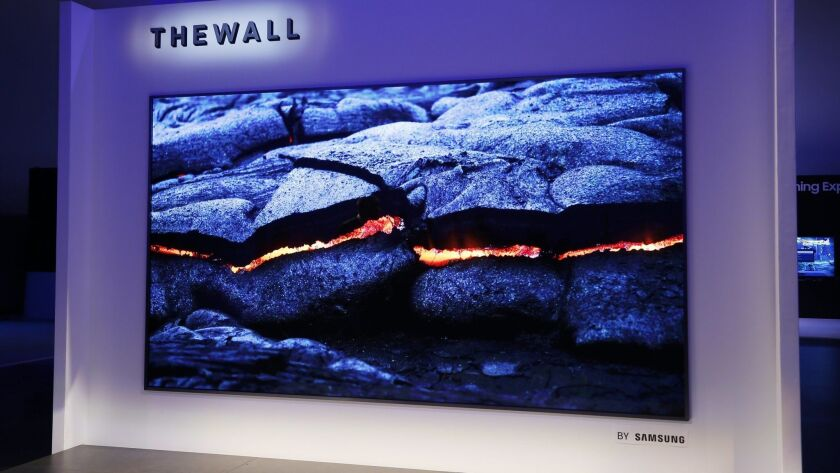 TV gets super-sized in this new 146-inch set. Credit: Samsung Electronics America