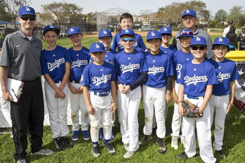 DMLL (National) Majors Dodgers