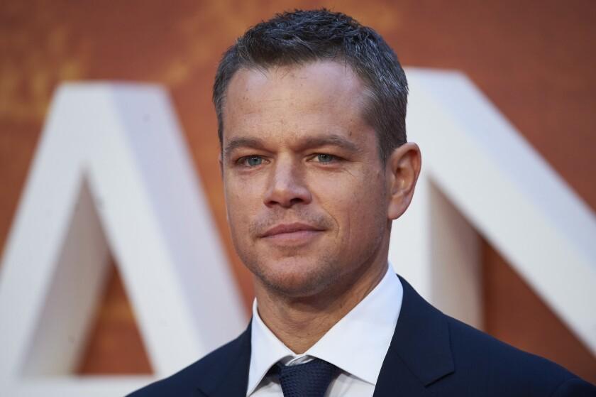 """The Martian"" star Matt Damon explains his remarks about gay actors on ""The Ellen DeGeneres Show."""