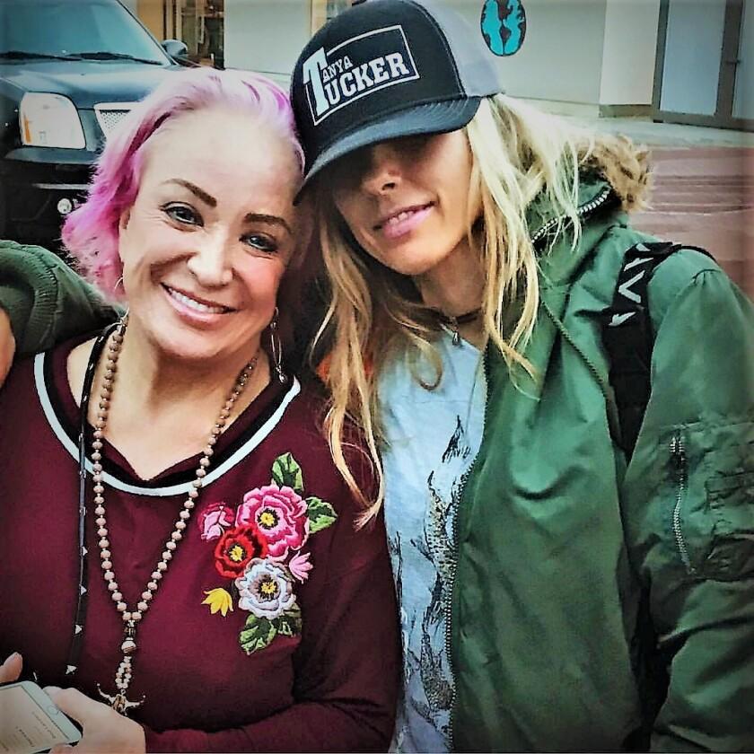 Ell France and Tanya Tucker in Malibu (2).jpg