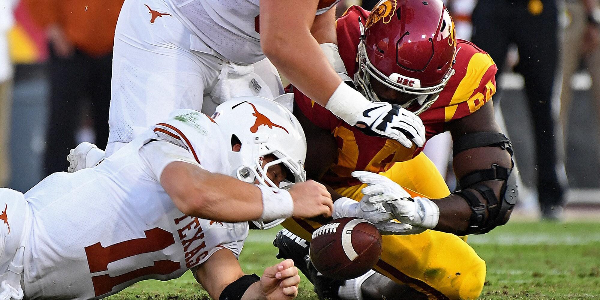 USC vs. Texas: Longhorns defeat the Trojans 37-14