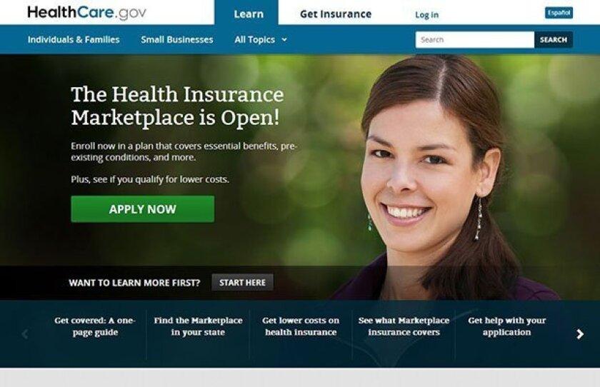 Healthcare.gov Obamacare's web site