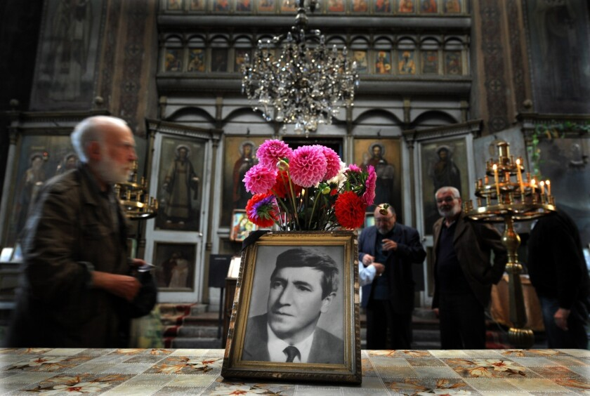 A memorial service Wednesday in a Sofia cathedral marked 35 years since the poisoning death of Bulgarian dissident Georgy Markov in London.