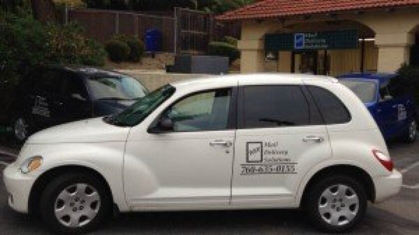 A RSF Mail Delivery Solutions Inc. delivery vehicle. Courtesy photo