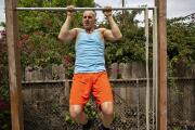 Favorite room: Actor Douglas Tait on his backyard gym