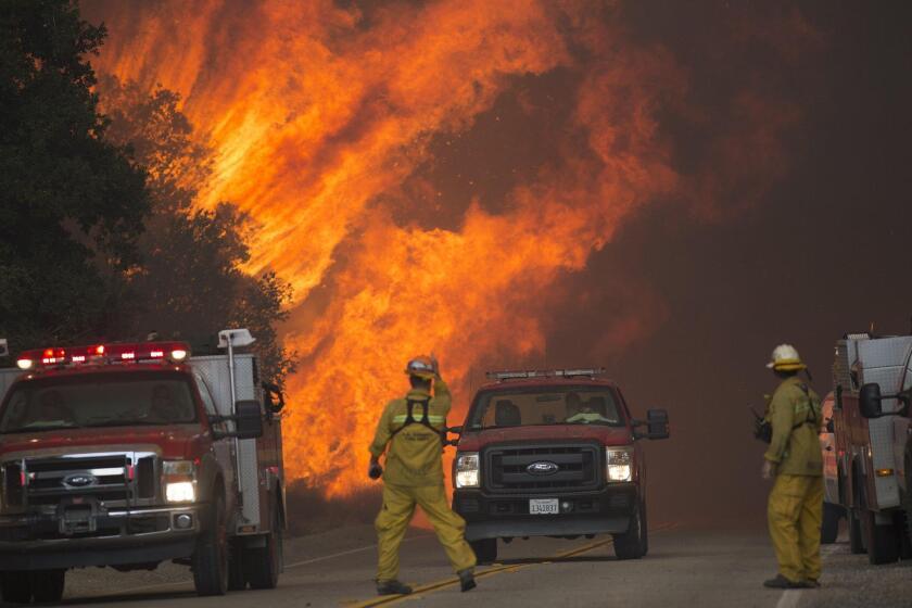 Sand Fire Map Santa Clarita Officials issue smoke advisory from Santa Clarita Sand fire as LCF