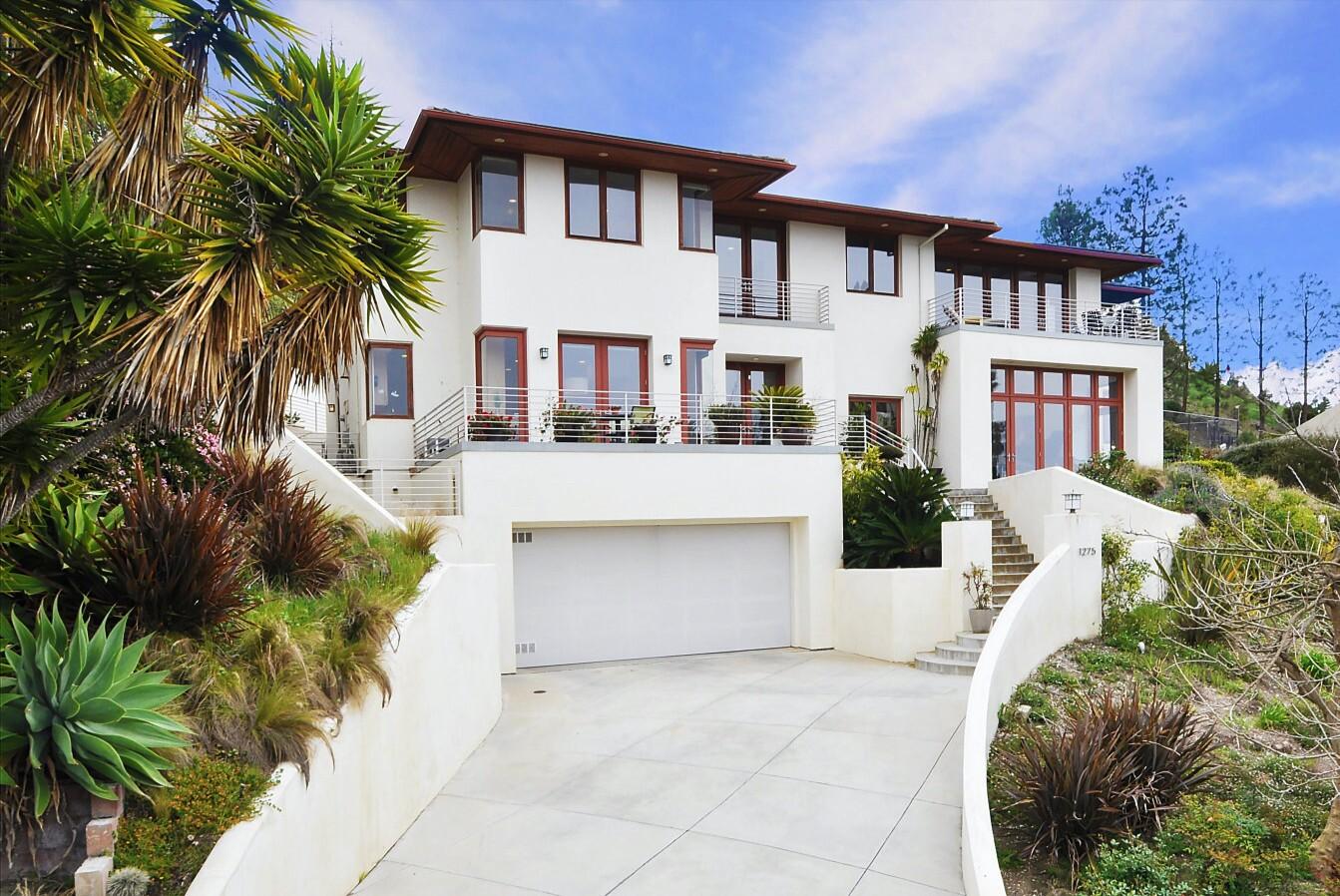 David Benoit's ocean-view home