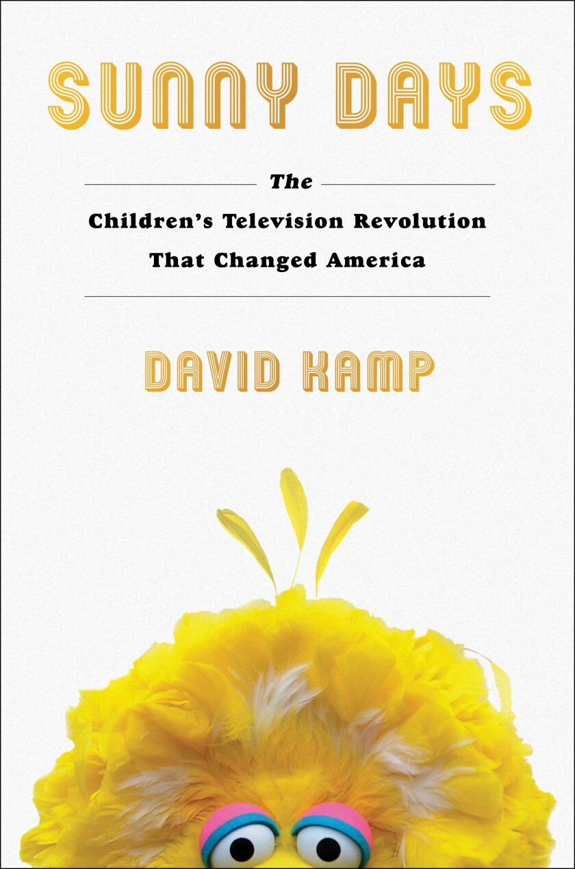 """Cover jacket of the book """"Sunny Days"""" by David Kamp."""