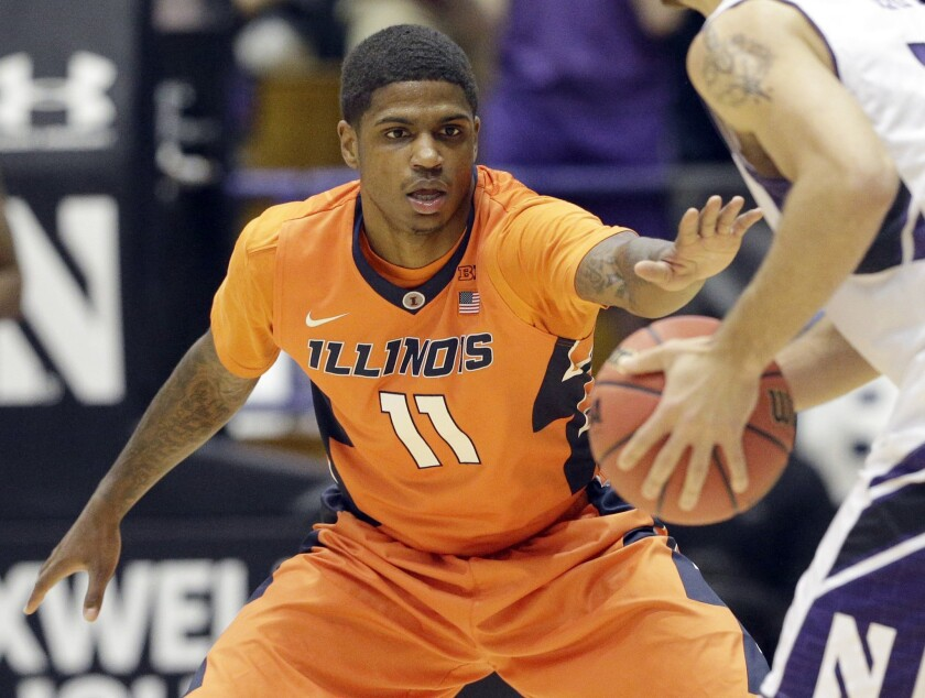 If Aaron Cosby returns to the lineup, Illinois hopes to make a season comeback similar to last year's.
