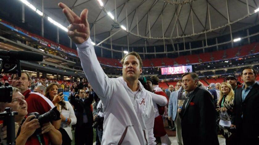 Alabama's Nick Saban wants to help Lane Kiffin get a head coaching job