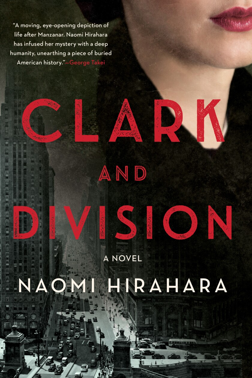 A book cover is a photo mashup of someone's face above a cityscape, with words