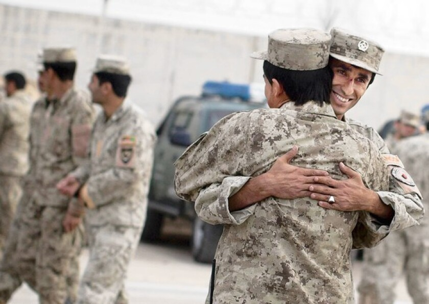 Afghanistan forces prepared for NATO withdrawal, Karzai says