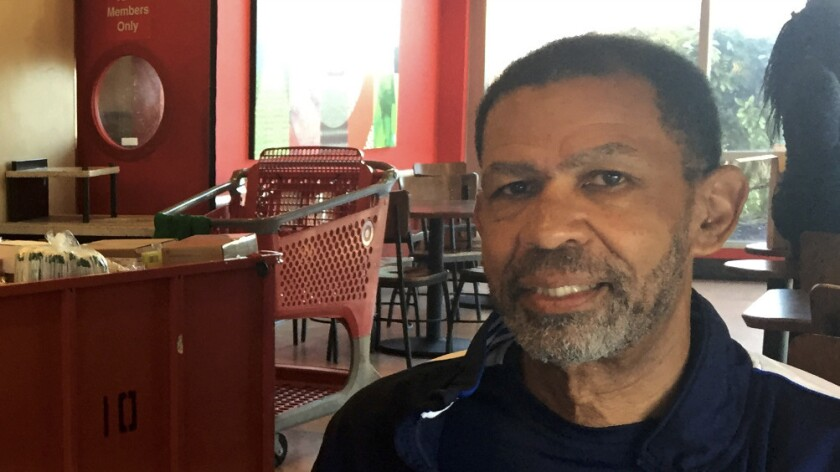 Michael Rashid, 69, is one of the leaders of an effort in Philadelphia to recruit black residents to patrol voting places to prevent possible disruption by supporters of Donald Trump.