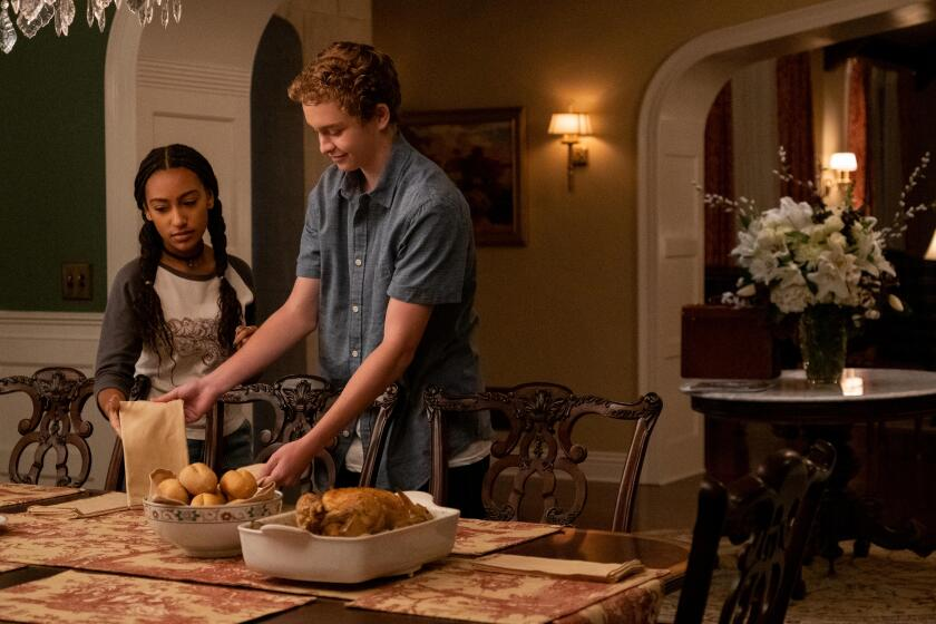 """Lexi Underwood and Gavin Lewis in """"Little Fires Everywhere"""""""