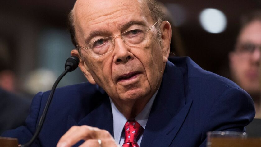 "Secretary of Commerce Wilbur Ross would gain the power to stop imports of sensitive hardware, software or data services between a U.S. company and anyone linked to a ""foreign adversary."""