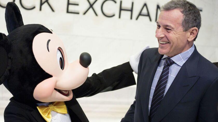 New York Stock Exchange Disney CEO Iger, USA - 27 Nov 2017