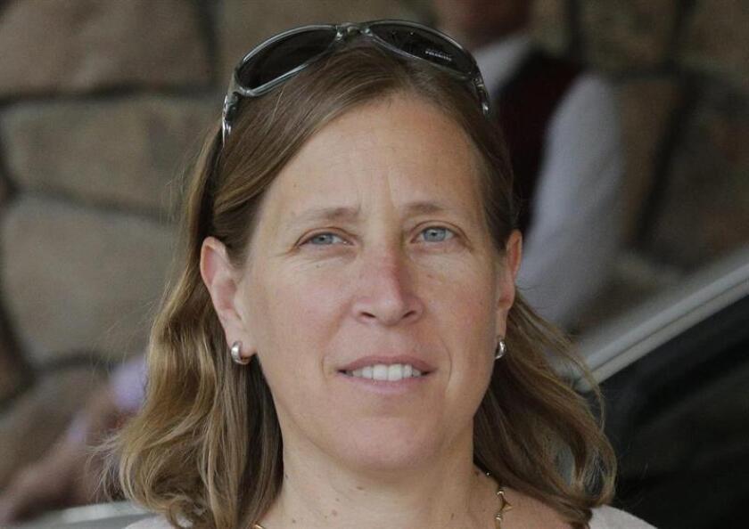 En la imagen un registro de la consejera delegada de Youtube, Susan Wojcicki. EFE/Archivo