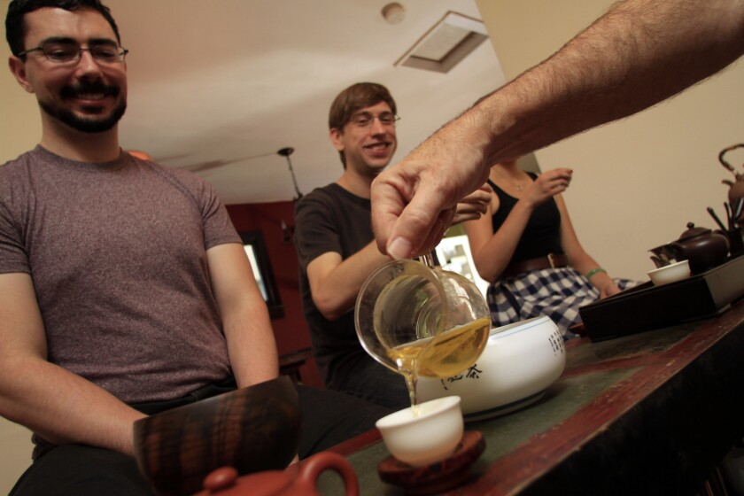 Consumed by their passion for rare Chinese teas