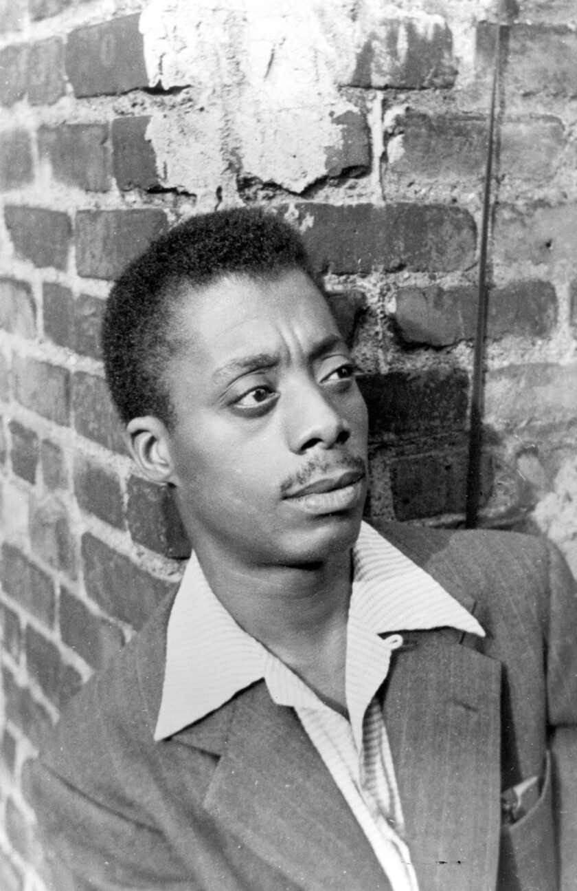 Young James Baldwin