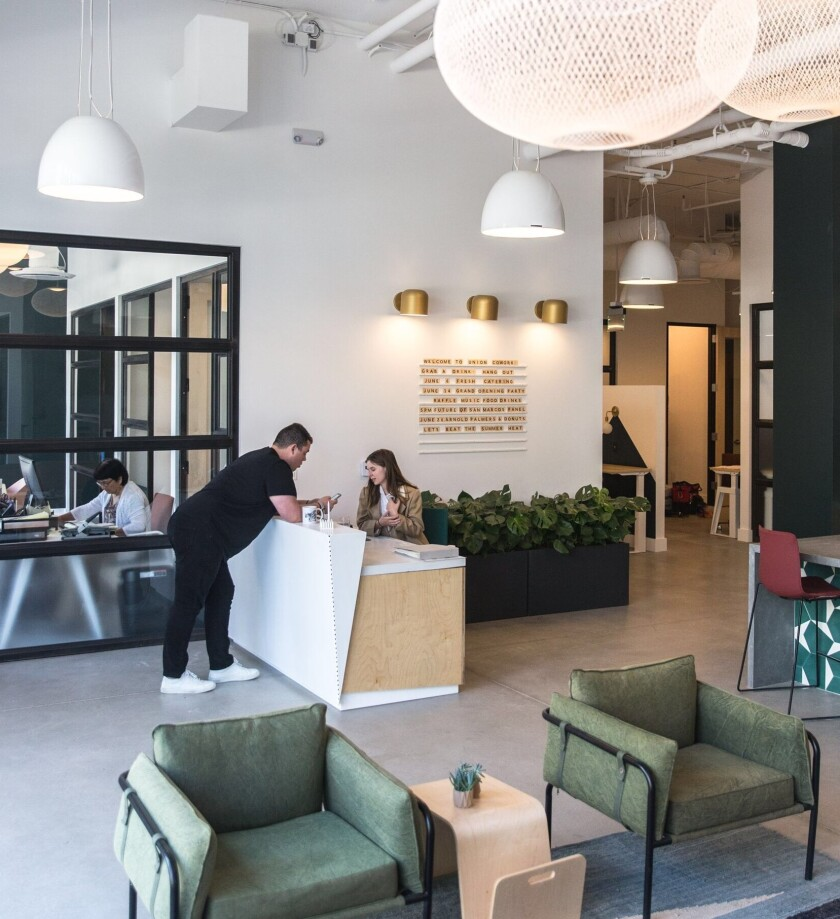 Union Cowork, a community-driven coworking space, has opened in San Marcos at 251 N. City Drive.