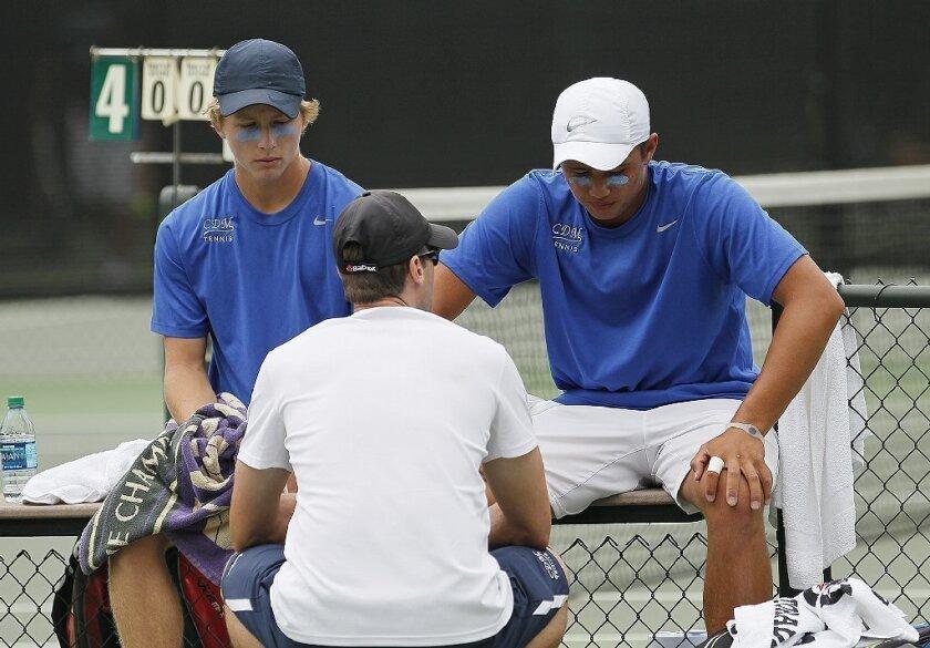 Boys' Tennis: Uni still on top