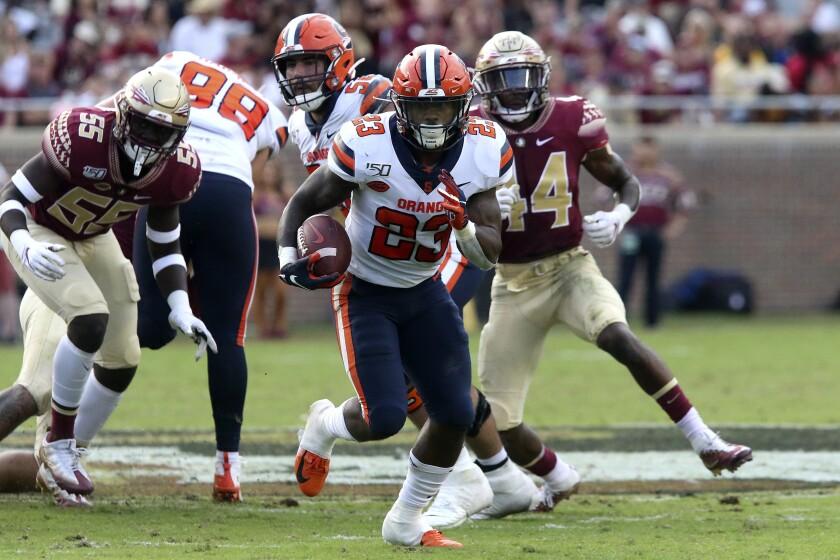 Syracuse Florida St Football