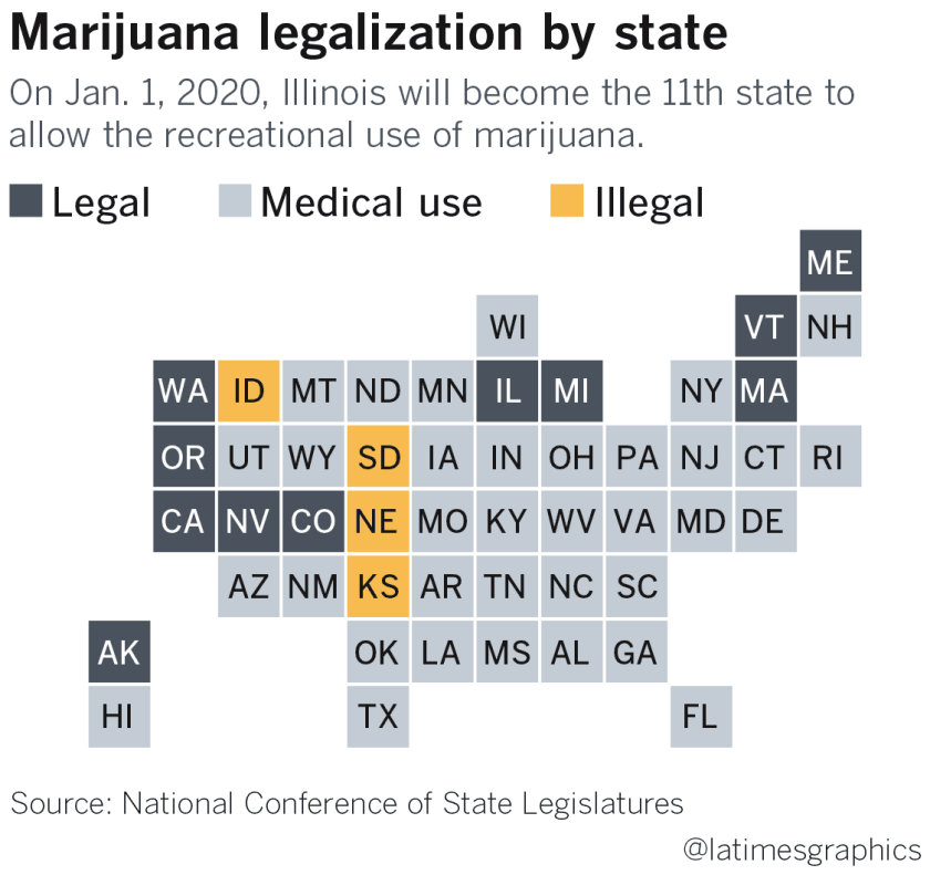 Recreational marijuana movement takes root in Midwest but efforts
