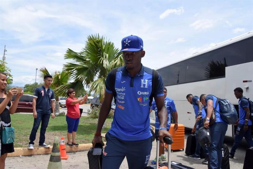 En la imagen, el joven delantero hondureño Alberth Elis. EFE/Archivo