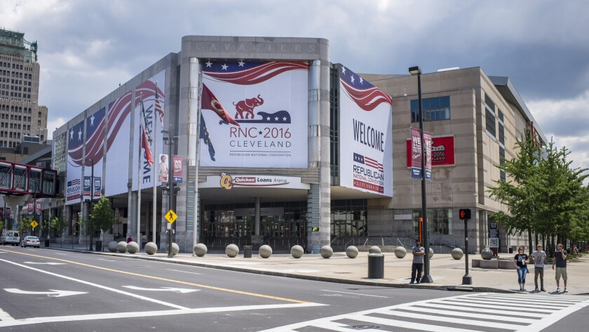 Cleveland's The Quicken Loans Arena is ready for the Republican National Convention.