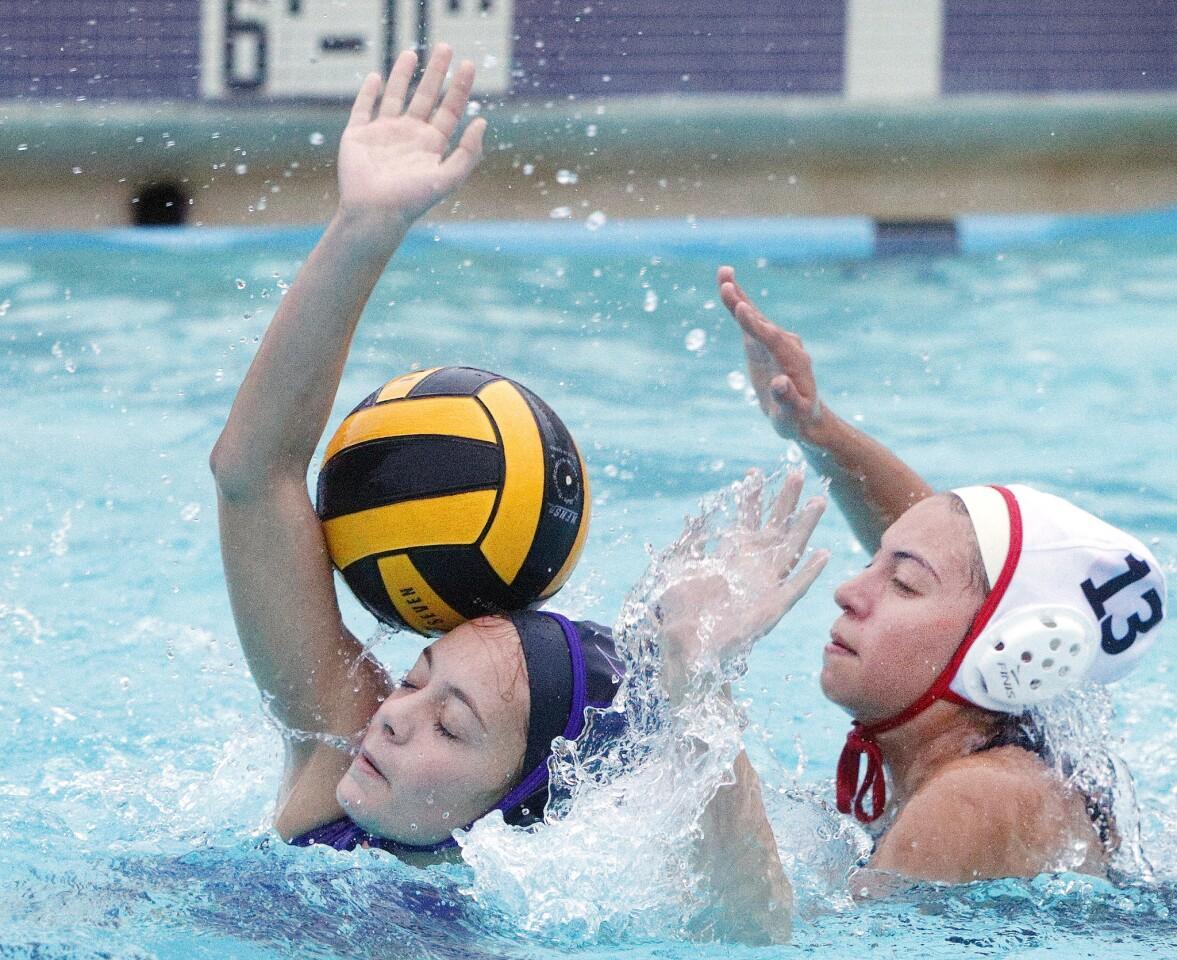 Photo Gallery: Hoover vs. Flintridge Sacred Heart Academy in non-league girls' water polo