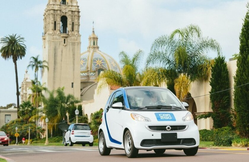 Car2go Switching Electric Cars To Gas In San Diego The San Diego