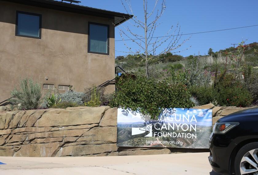 The Laguna Canyon Foundation headquarters in Laguna Canyon.