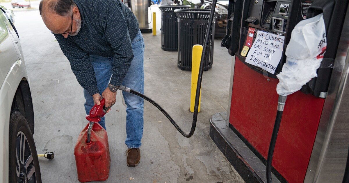 No, California, you don't need to stock up on gasoline