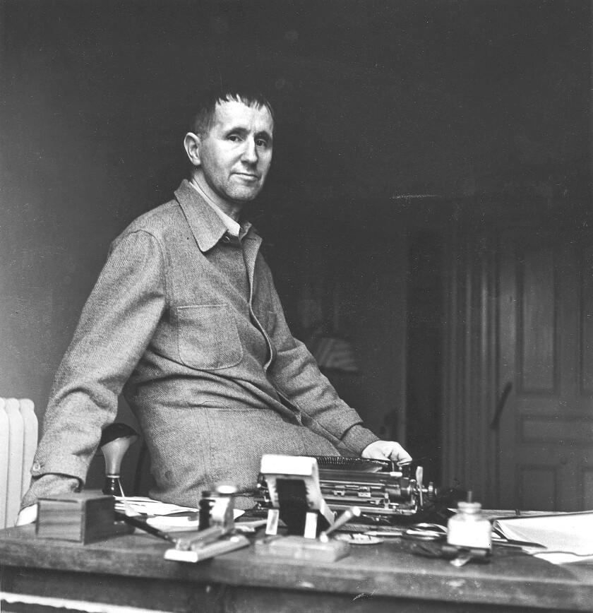 German playwright Bertolt Brecht (1898-1956).