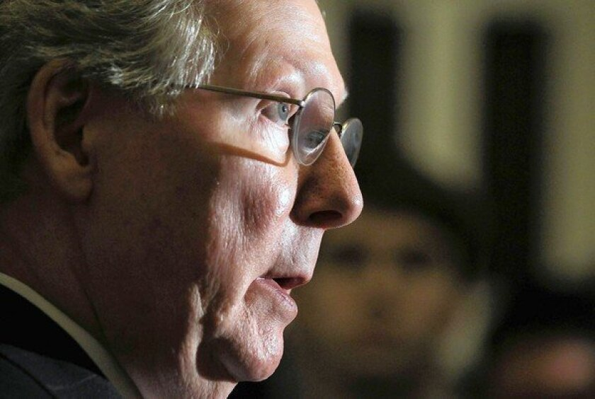 Mitch McConnell lies low as 'fiscal cliff' nears