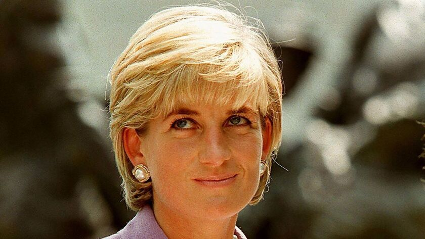 Diana, Princess of Wales, attends a ceremony at Red Cross headquarters in Washington, D.C. on June 17, 1997.