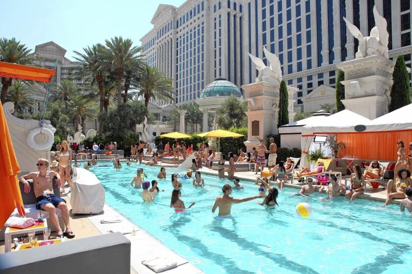 Las Vegas filming